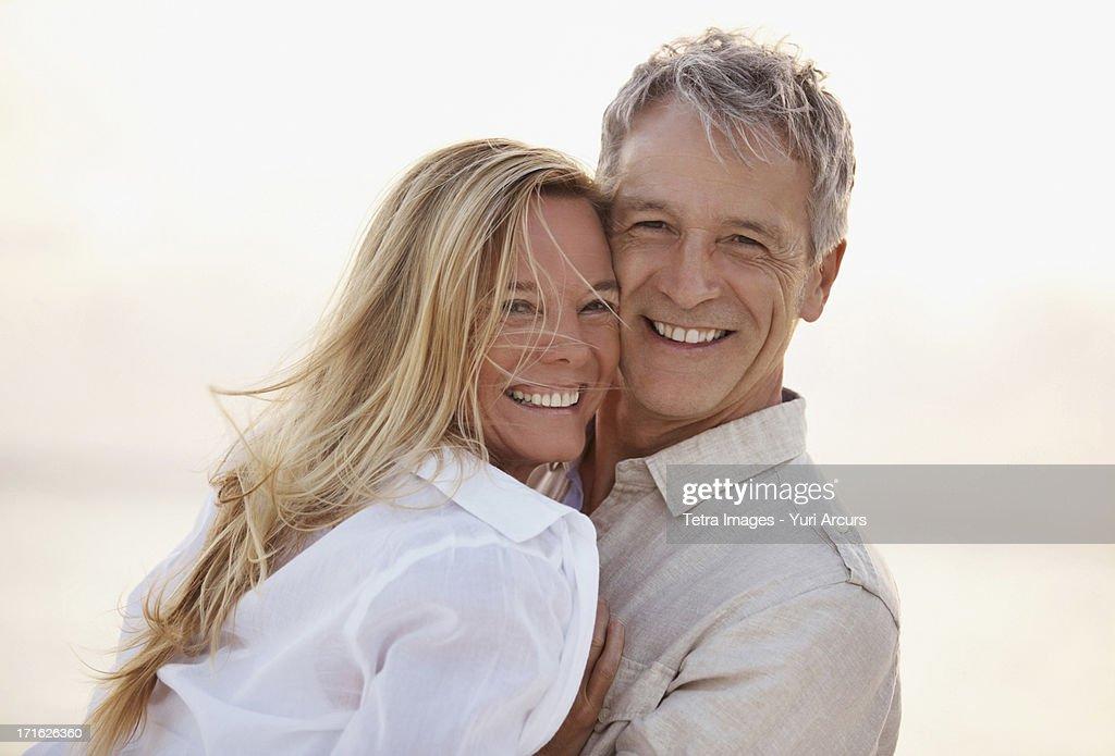 South Africa, Cape Town, Portrait of happy mature couple