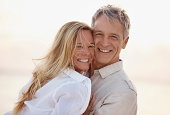 South Africa, Cape Town, Portrait of happy mature couple