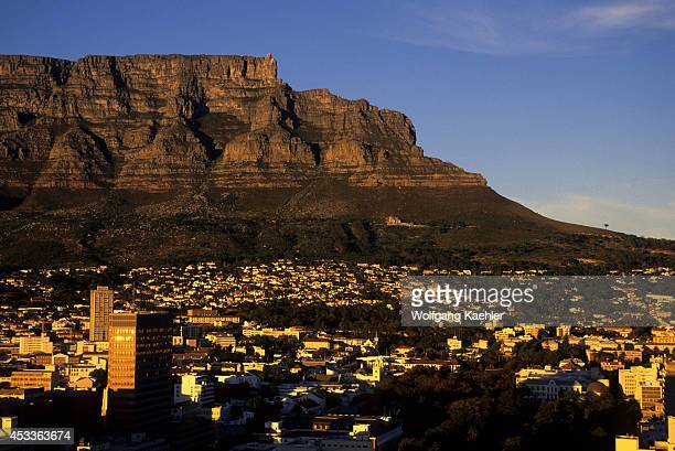 South Africa Cape Town View Of Table Mountain