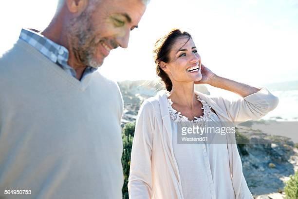 South Africa, couple enjoying holidays at the coast