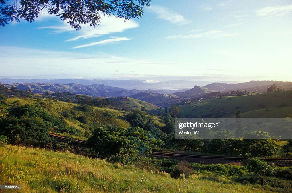 'Valley of Thousand Hills, from Botha's Hill, Kwazulu-Natal, South Africa'
