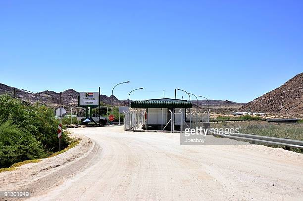 South Africa Namibia Border Station
