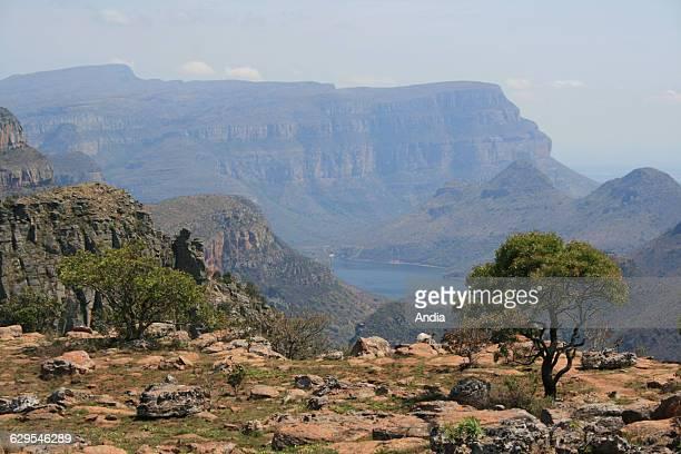 South Africa November 2009 Blyde River Canyon Imposing Blyde River Canyon