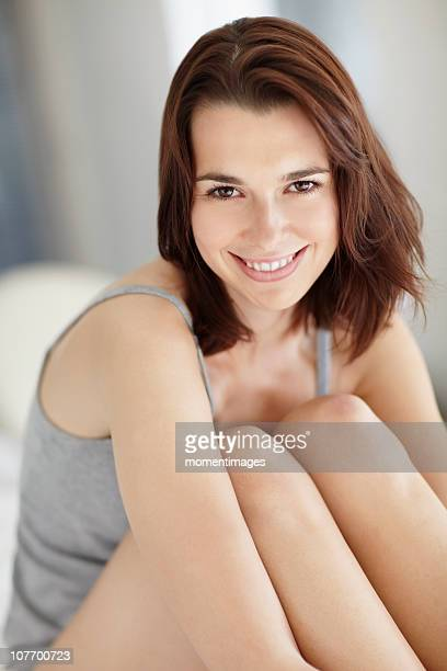 South Africa, Portrait of young woman