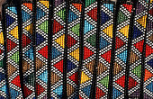 South Africa, traditional Zulu beadwork.