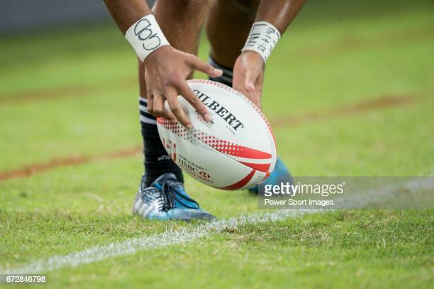 South Africa vs New Zealand Day 2 of the HSBC Singapore Rugby Sevens as part of the World Rugby HSBC World Rugby Sevens Series 201617 at the National...