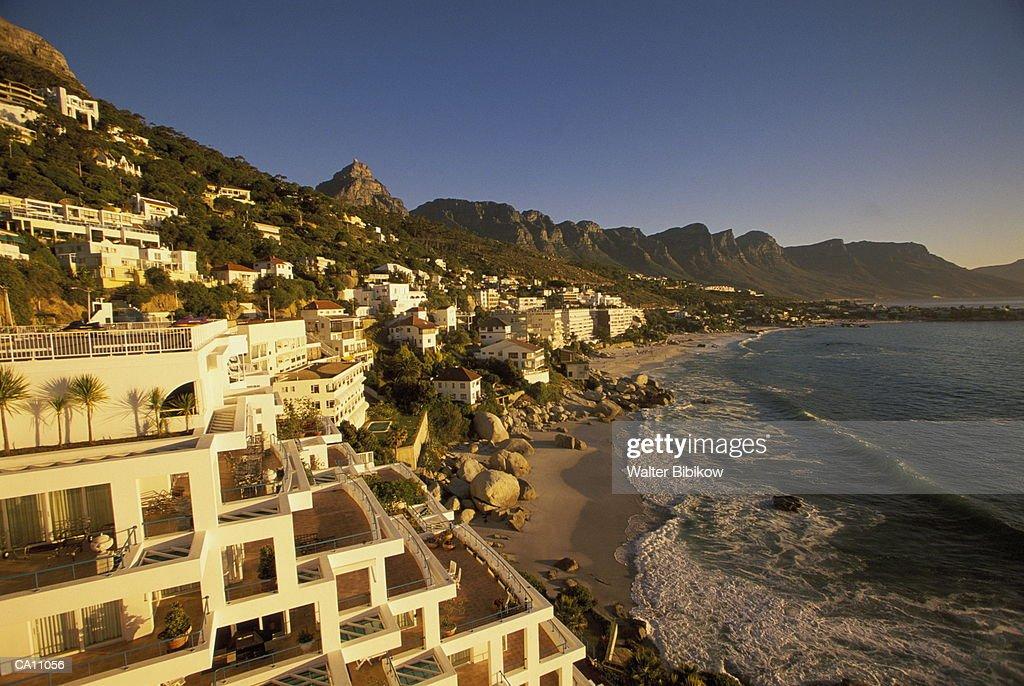 South Africa, West Cape, Capetown, Clifton, dusk