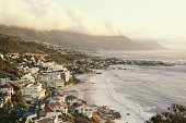 South Africa, Western Cape Province, Cape Town, Clifton Beaches, dawn