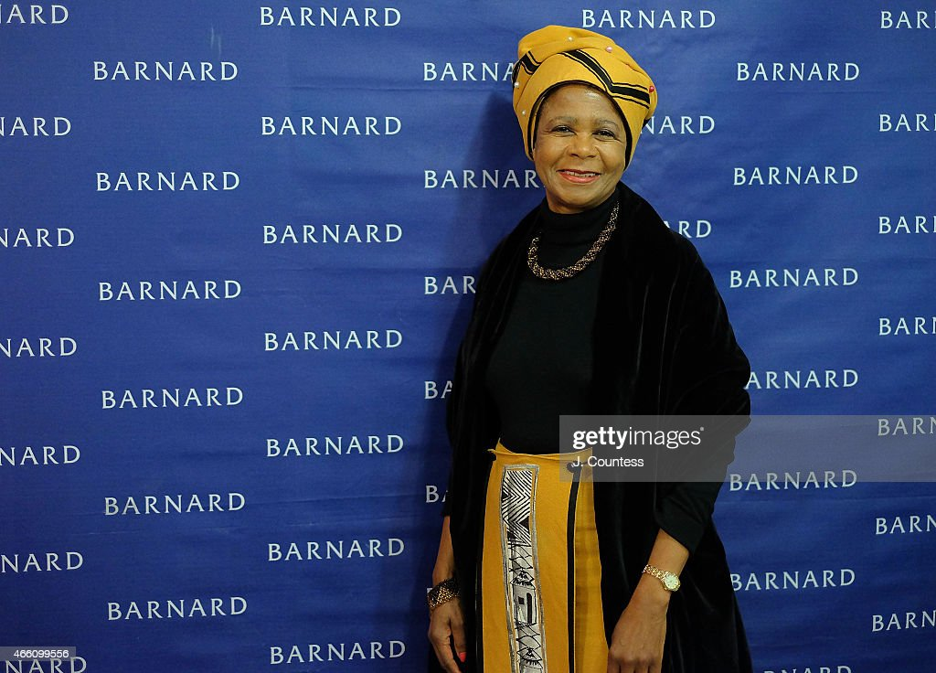 South African Activist and politician <a gi-track='captionPersonalityLinkClicked' href=/galleries/search?phrase=Mamphela+Ramphele&family=editorial&specificpeople=3973045 ng-click='$event.stopPropagation()'>Mamphela Ramphele</a> attends Barnard College's 7th Annual Global Symposium at Barnard College on March 13, 2015 in New York City.