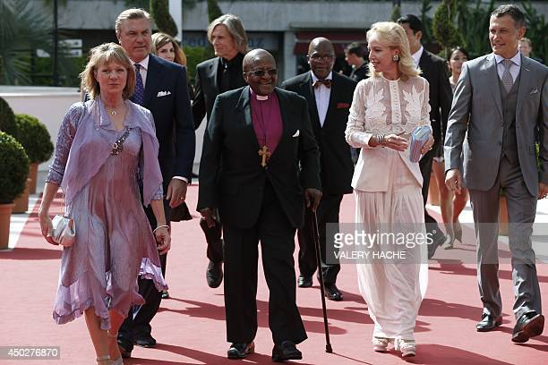 South African Archbishop Desmond Tutu Dawn Engle cofounder and executive director of the nonprofit organization '' The PeaceJam Foundation'' and...