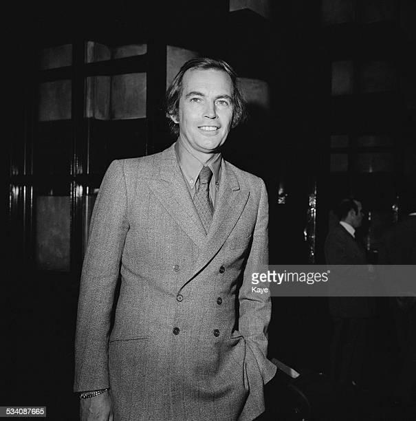 South African cardiac surgeon Dr Christiaan Barnard arriving at London Airport 29th April 1972