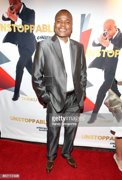 South African Consulate Nepfumbada Shadrack attends 'Unstoppable' Tariku Bogale book launch on September 22 2017 in West Hollywood California