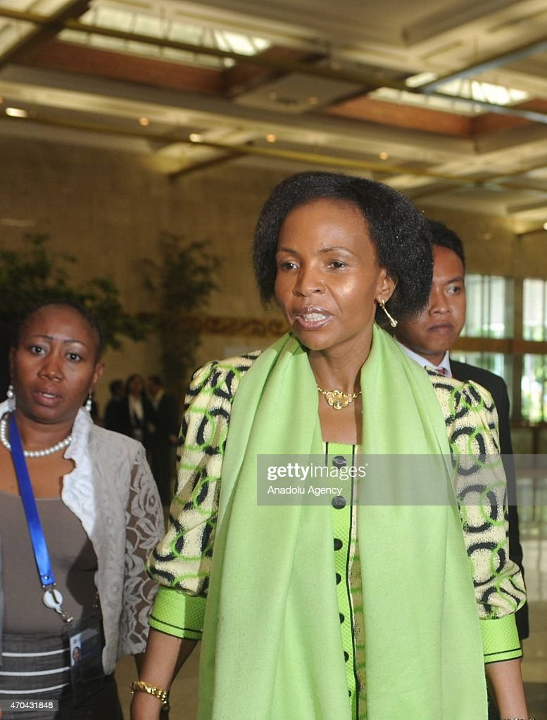 South African Foreign Minister <a gi-track='captionPersonalityLinkClicked' href=/galleries/search?phrase=Maite+Nkoana-Mashabane&family=editorial&specificpeople=3056332 ng-click='$event.stopPropagation()'>Maite Nkoana-Mashabane</a> walks toward the meeting room during the 60th Asia Africa Ministerial Meeting in Jakarta, Indonesia on 20 April 2015. The 60th Asian-African Conference is being held in Jakarta and Bandung from 19 to 24 April 2015.