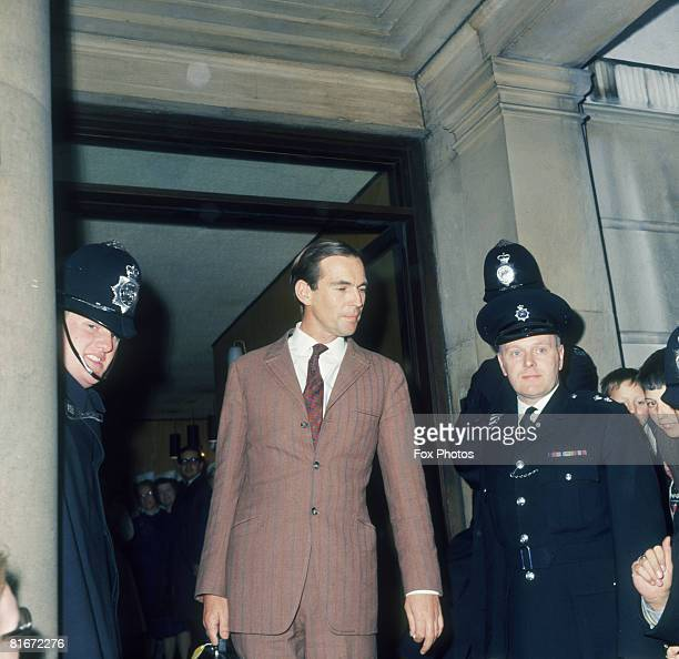 South African heart surgeon Christiaan Barnard in London May 1968