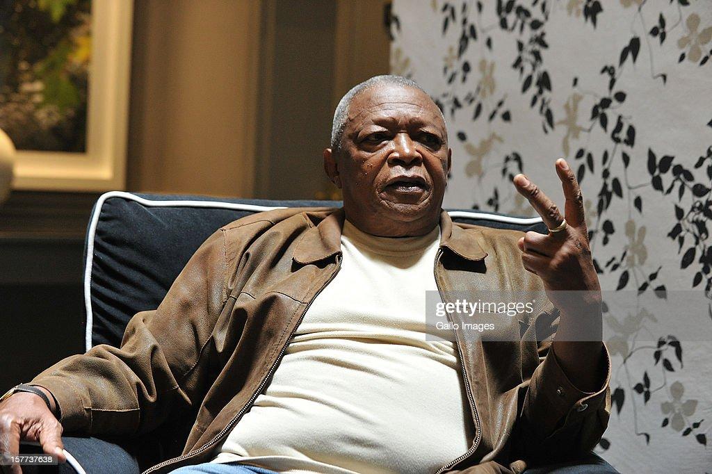South African jazz musician Hugh Masekela on November 28, 2012 in Johannesburg, South Africa.