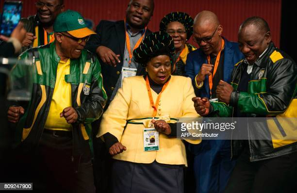 South African President Jacob Zuma former African Union Chairperson and presidential hopeful Nkosazana DlaminiZuma and South African Deputy President...