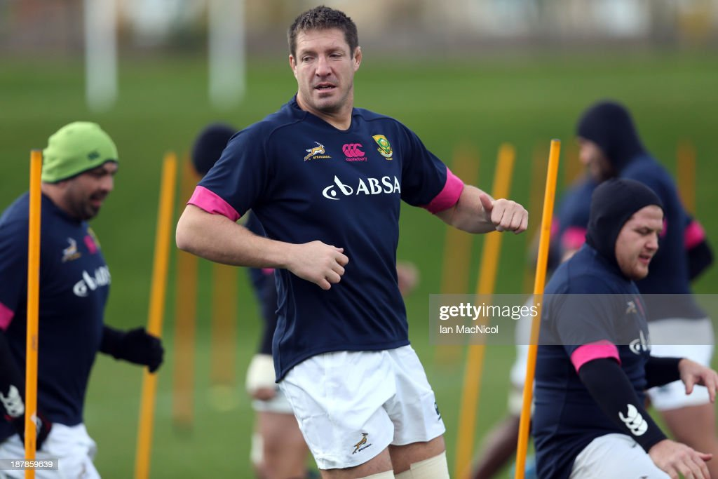 Springboks Press Conference and Training Session