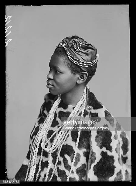 South African singer Charlotte Manye a member of The African Choir 1891 The choir drawn from seven different South African tribes toured Britain from...