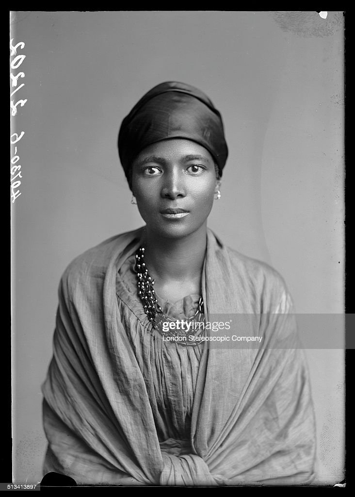 South African singer Eleanor Xiniwe, a member of The African Choir, 1891. The choir, drawn from seven different South African tribes, toured Britain from 1891 to 1893 to raise funds for a technical college in their home country.
