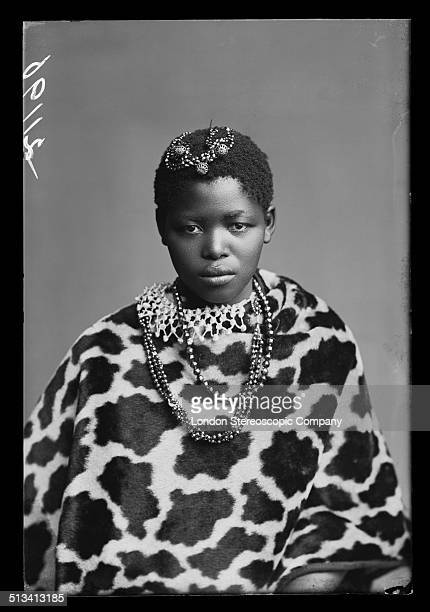 South African singer Katie Manye a member of The African Choir 1891 The choir drawn from seven different South African tribes toured Britain from...