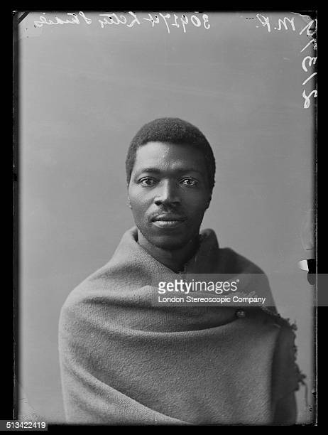 South African singer Paul Xiniwe a member of The African Choir 1891 The choir drawn from seven different South African tribes toured Britain from...