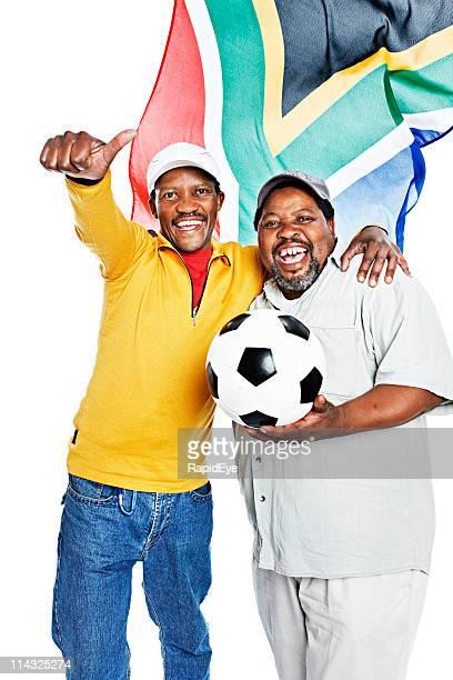 Südafrikanischen Fußball-fans