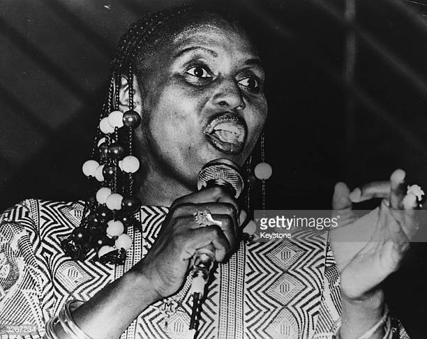 miriam makeba Johannesburg (reuters) - south african singer miriam makeba, one of  africa's best known voices and a champion of the fight against.