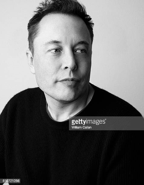 South Africanborn CanadianAmerican business magnate engineer inventor and investor Elon Musk is photographed for The Wrap on November 15 2016 in Los...