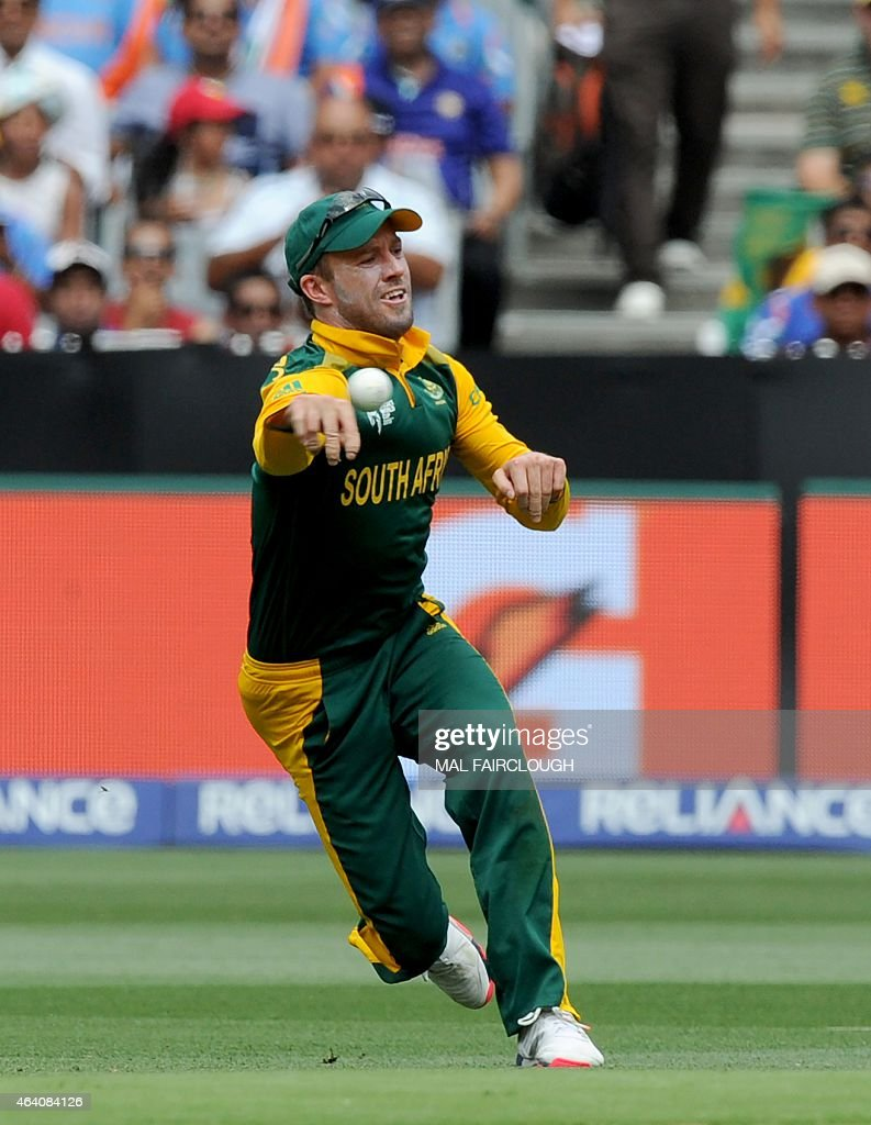 Villiers South Africa  city photo : AB de Villiers of South Africa bats during the 2015 ICC Cricket World ...