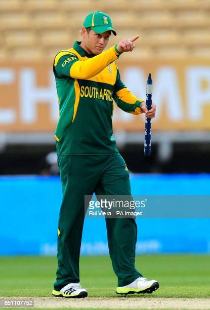 South Africa's Colin Ingram during the ICC Champions Trophy match at Edgbaston Birmingham