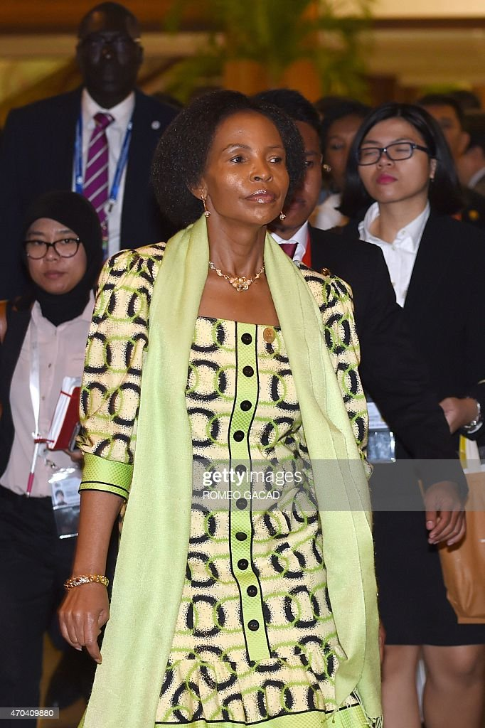 South Africa's Foreign Minister <a gi-track='captionPersonalityLinkClicked' href=/galleries/search?phrase=Maite+Nkoana-Mashabane&family=editorial&specificpeople=3056332 ng-click='$event.stopPropagation()'>Maite Nkoana-Mashabane</a> arrives for the opening session of the Asian-African Conference ministerial meeting in Jakarta April 20, 2015. Asian and African leaders gather in Indonesia this week to mark 60 years since a landmark conference that helped forge a common identity among emerging states, but analysts say big-power rivalries will overshadow proclamations of solidarity.