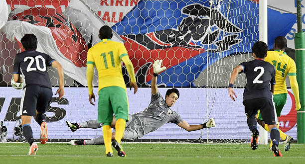 Apan play s africa in friendly pictures getty images apan play s africa in friendly negle Images