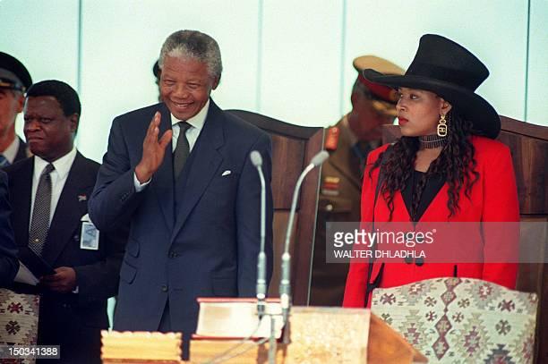 Nelson Mandela inaugurated