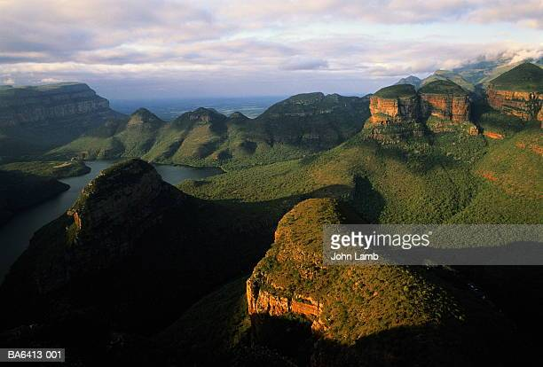 South Africa,Transvaal,Drakensberg,Blyde River Canyon,elevated view