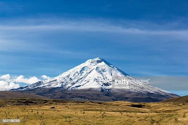 South America, Ecuador, Andes Volcano Cotopaxi, Cotopaxi National Park