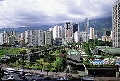 South America, Venzuela, Carcas, financial district