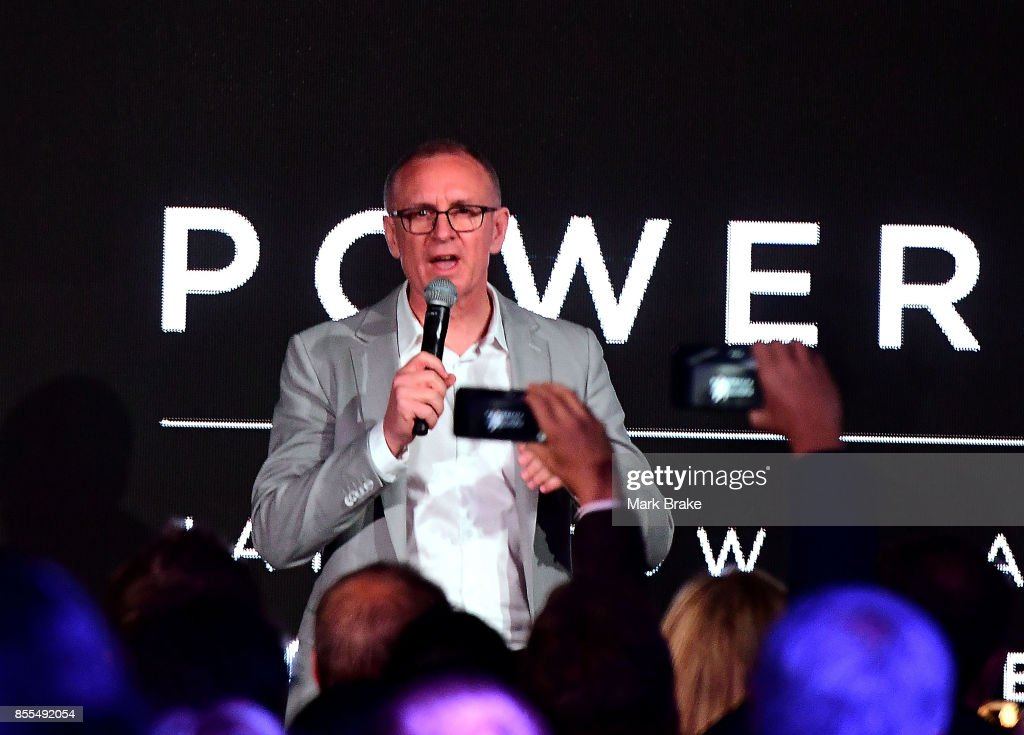 South Australian premier Jay Weatherill during Tesla Powerpack Launch Event at Hornsdale Wind Farm on September 29, 2017 in Adelaide, Australia. Tesla will build the world's largest lithium ion battery after coming to an agreement with the South Australian government. The Powerpack project will be capable of an output of 100 megawatts (MW) of power at a time and the huge battery will be able to store 129 megawatt hours (MWh) of energy. Tesla CEO Elon Musk has promised to build the Powerpack in 100 days, or he will deliver it for free.