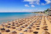 South Beach of Nessebar, Bulgaria