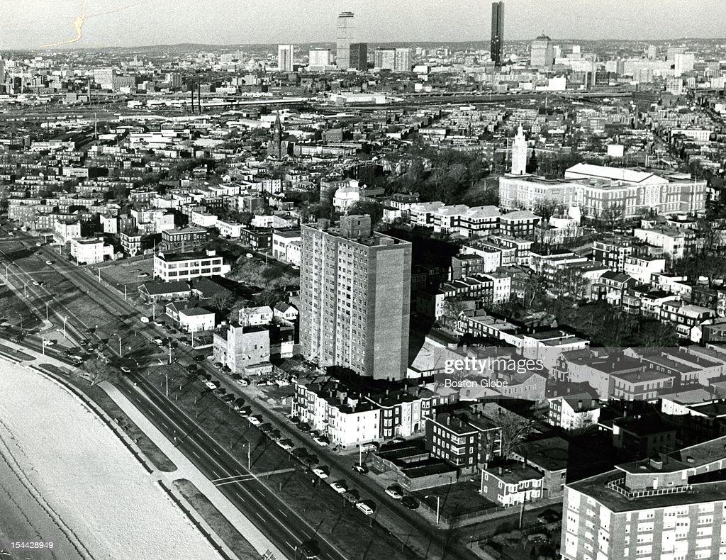 South Boston aerial view
