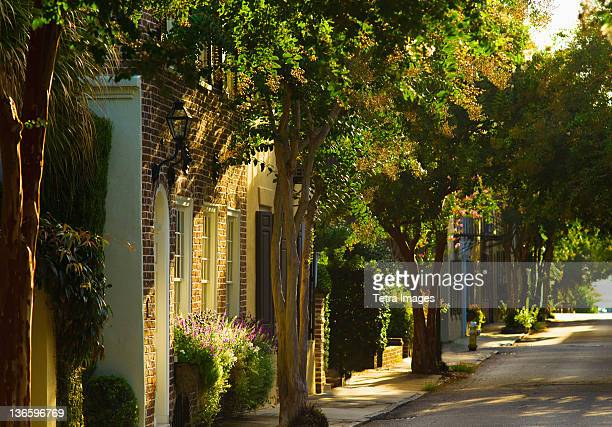 USA, South Carolina, Charleston, Quiet street
