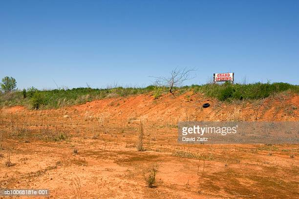 USA, South Carolina, Grand Opening sign