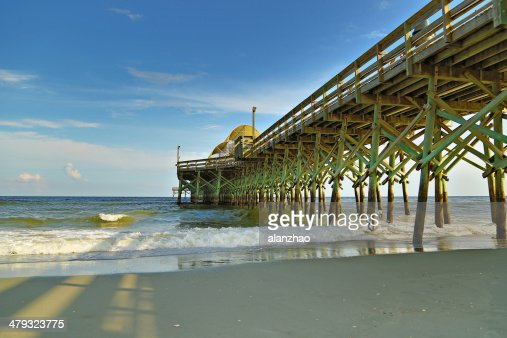 South Carolina Myrtle Beach Pier : Stock Photo