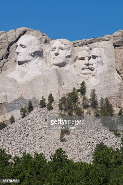 South Dakota Black Hills Mount Rushmore National Monument