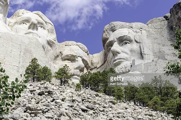 USA, South Dakota, Mount Rushmore, View of Mt Rushmore National Monument