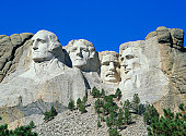 USA, South Dakota, Mt Rushmore National Monument