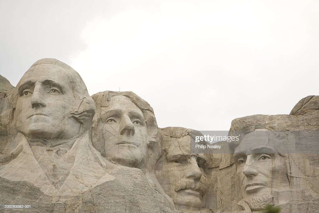 USA, South Dakota, Rapid city, Mount Rushmore National Memorial : Stock Photo