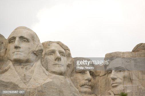 USA, South Dakota, Rapid city, Mount Rushmore National Memorial : Stock Photo
