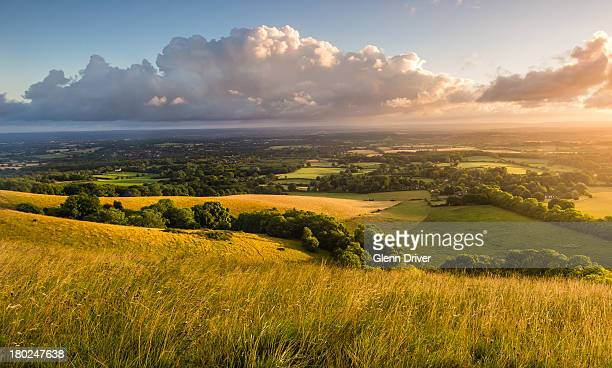 South Downs view from Ditchling Beacon