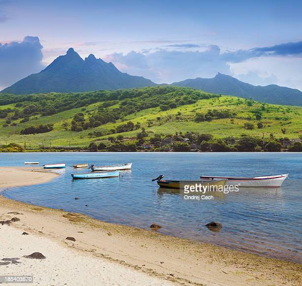 South east coast of Mauritius island