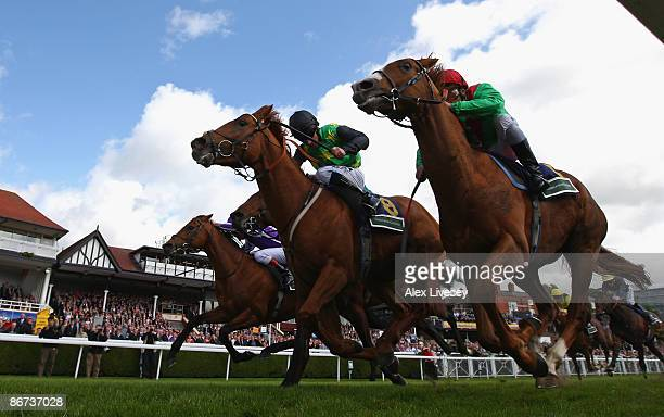 South Easter ridden by Neil Callan beats Gitano Hernando ridden by John Egan to win the Addleshaw Goddard Dee Stakes at Chester Racecourse on May 8...